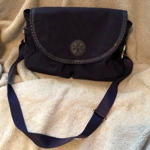 Tory Burch Black messenger/ Diaper Bag